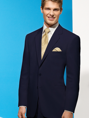 Navy Blue Riviera Suit by After Six